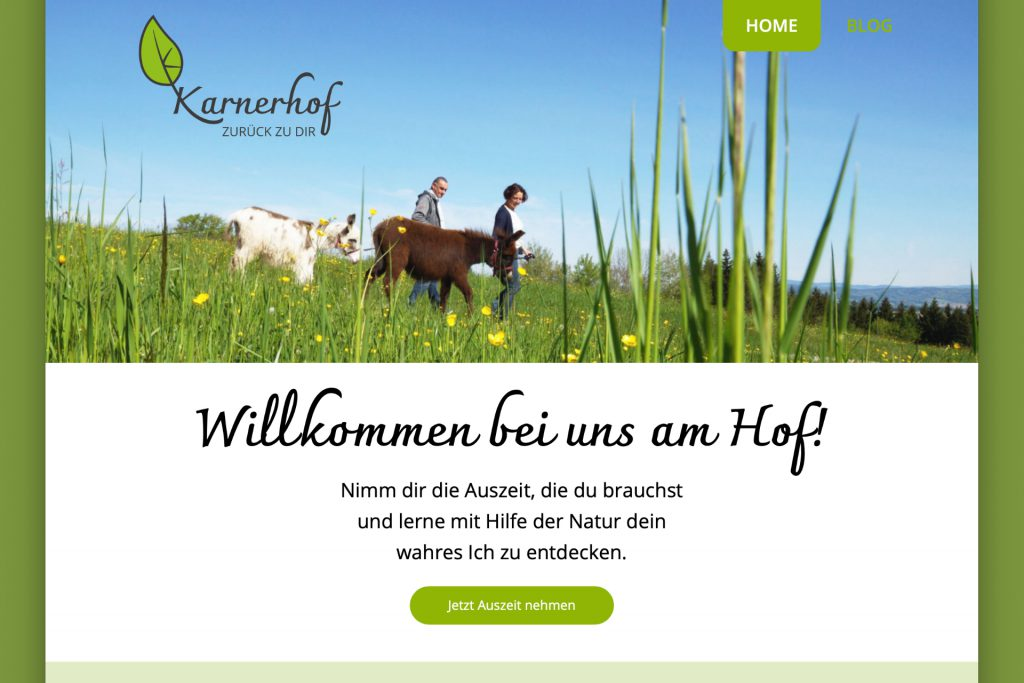 karnerhof website