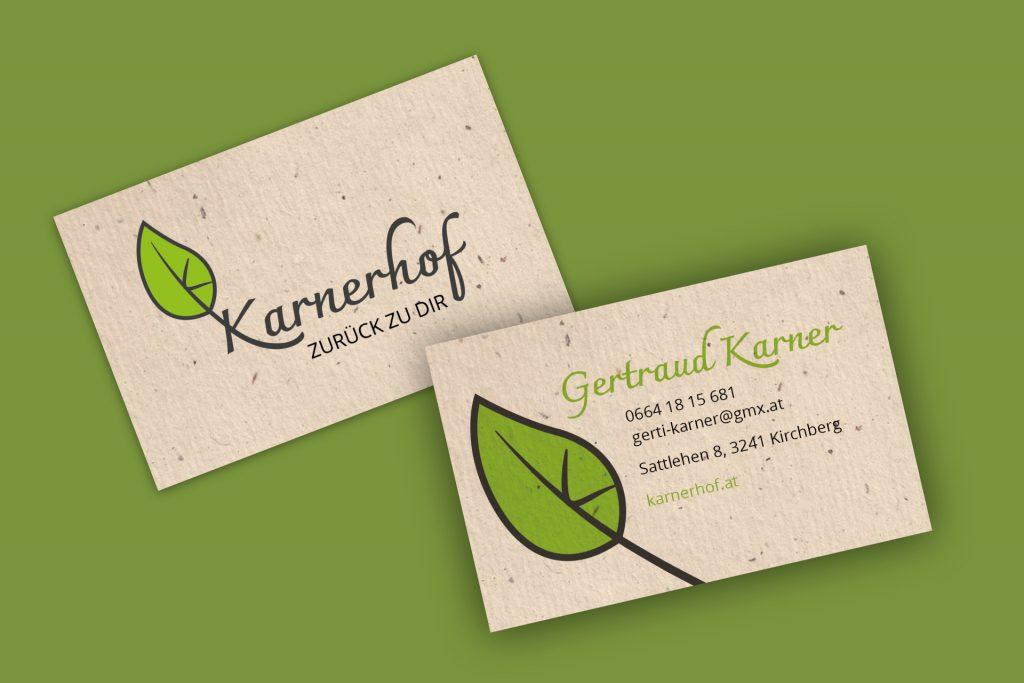 karnerhof visitenkarte